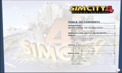 SimCity 4 Deluxe Game Manual (PDF)